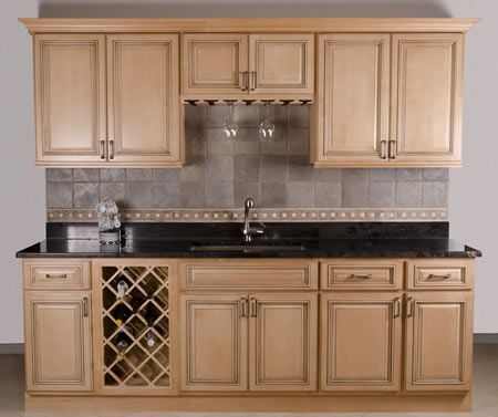Custom Kitchen and Bathroom Cabinets