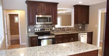 Majestic offers detailed styling with all our cabinets.