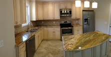 Modern custom cabinets from Majestic.