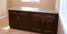 Add new life to your tired kitchens and bathrooms with majestic's custom cabinets and vanities.
